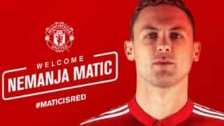 Manchester United Sign Nemanja Matic From Chelsea on Three Year Deal