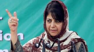 Fiddling With J&K's Special Status Will Have Catastrophic Ramifications, Warns Mehbooba Mufti