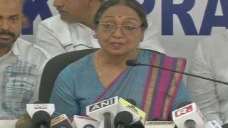 Shameful to See President Fight Seen as Dalit vs Dalit: Meira Kumar