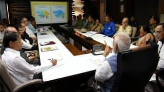 Gujarat Floods: PM Narendra Modi Conducts Aerial Survey of Flood-Affected Areas, Announces Ex-Gratia of Rs. 2 lakh For Families of Those Killed