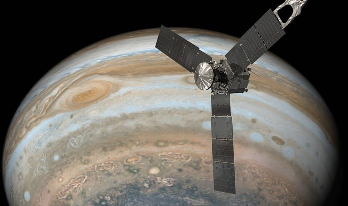 NASA Completes Its Historic Flight Over Jupiter's Great Red Spot