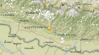 Earthquake Measuring 4.9 on Richter Scale Hits Ramechhap in Nepal