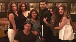 Hrithik Roshan, Sussanne Khan, Gauri Khan, Karan Johar Party Hard In New York City