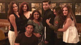 Hrithik Roshan, Sussanne Khan, Gauri Khan, Karan Johar Party Hard In New York City
