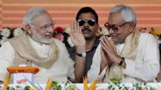 Nitish Kumar Breaks Free From Grand Alliance, PM Narendra Modi Says 'Welcome in Fight Against Corruption'