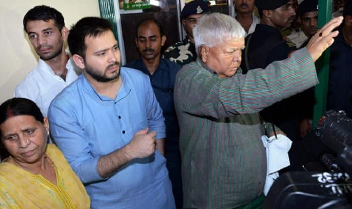 IRCTC Scam: Lalu Yadav, Rabri Devi, Tejashwi Granted Bail in ED Case