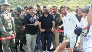 Parvez Rasool Inaugurates Army Sponsored Cricket Academy in Jammu And Kashmir's Banihal District