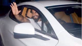 Birthday Boy Ranveer Singh Takes Ladylove Deepika Padukone On A Drive In His Swanky New Car – Pic
