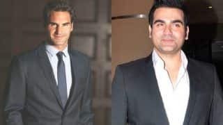 Roger Federer's Win Brings Back Arbaaz Khan In Limelight – View Pic