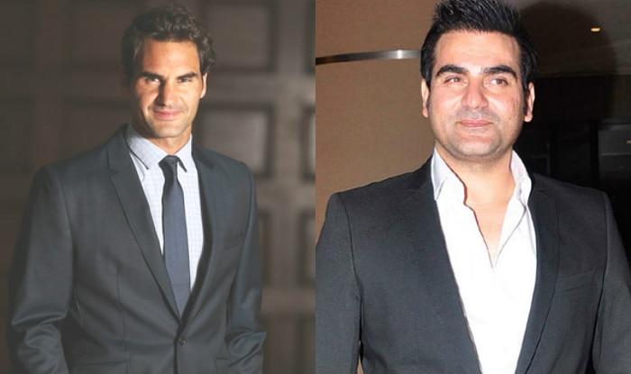 Roger Federer Arbaaz Khan
