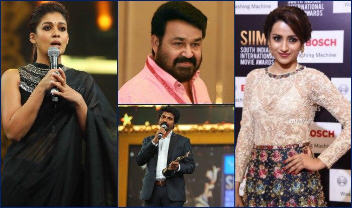 SIIMA 2017 winners: Mohanlal, Nayanthara, Sivakarthikeyan