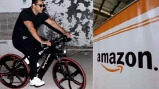 Salman Khan Partners with Amazon India to sell Being Human e-Cycles Online! Bike Models BH12 and BH27 to be Available for Amazon.in Prime Members