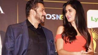 Not Just Katrina Kaif But This Person Also Kept Salman Khan Company At IFFI 2017 Closing Ceremony