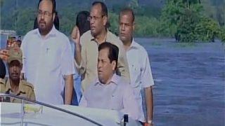 असम: सीएम सोनोवाल ने किया बाढ़ ग्रस्त इलाकों का दौरा, मोदी ने दिया मदद का भरोसा