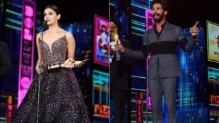 IIFA 2017: Here's How Shahid Kapoor And Alia Bhatt Decided To Celebrate Their Victory - Watch Video