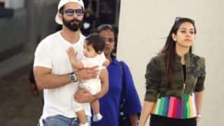 IIFA 2017: Shahid Kapoor introduces baby Misha to the New Yorkers – View Pics