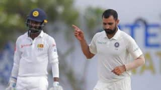 India vs Sri Lanka 1st Test 2017: IND on Top Despite Angelo Mathews, Upul Tharanga's Fifties on Day 2