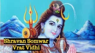 Shravan Somwar Vrat Vidhi for Lord Shiva: Fasting Rules and Significance of Solah Sawan Somwar (Monday) Vrat 2017