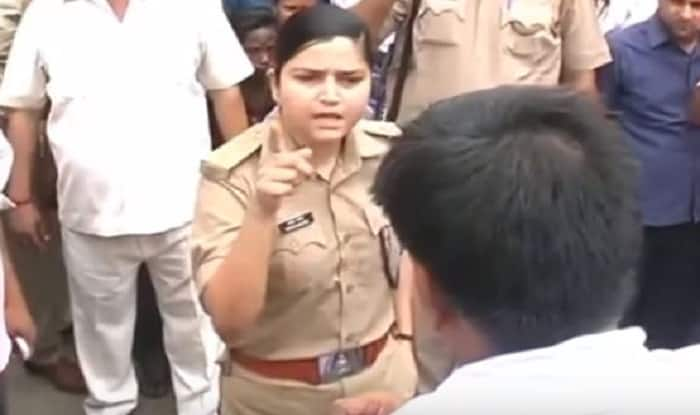Cop shifted over fine on BJP leader