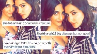 Sonam Kapoor's Cleavage Revealing Dress in Selfie With Anushka Sharma Receives Major Backlash from Online Trolls! See Hot Picture