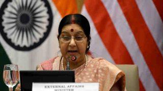 अमेरिका के अखबार 'द वॉल स्ट्रीट जरनल' ने विदेश मंत्री सुषमा स्वराज के काम को सराहा