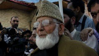 Syed Ali Shah Geelani Slams Farooq Abdullah For Dismissing 'Independent' Kashmir Talk