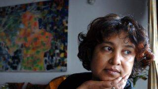 Taslima Nasreen Sent Back From Aurangabad Airport After AIMIM Protest