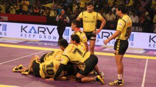 Pro Kabaddi 2017 Highlights: UP Yoddha Edge Out Telugu Titans in PKL Season 5