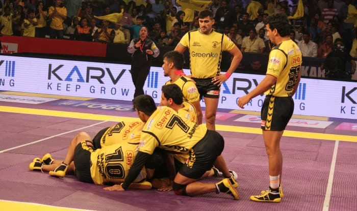 Telugu Titans beat Tamil Thalaivas in Pro Kabaddi League opener in Hyderabad