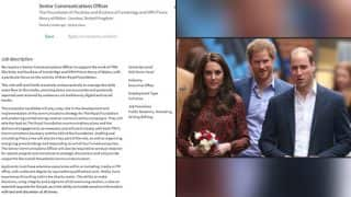 The British Royal Family is Hiring! Prince William & Princess Kate Middelton Post Job Profile on LinkedIn!