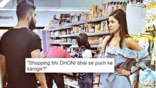 Virat Kohli and Anushka Sharma's Viral Picture of Grocery Shopping in New York City Turns Into An Epic Meme!