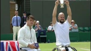 Wimbledon 2017: Stefan Olsson Wins His First Wheelchair Title, Beats 7-5, 3-6, 7-5 Gustavo Fernandez