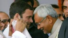 'Selfish' Nitish Kumar Was Planning to Break Grand Alliance For Last 3-4 Months, Says Rahul Gandhi