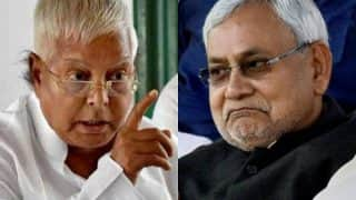 Nitish Kumar Will Pay the Price For Joining BJP in 2019: Lalu Prasad Yadav