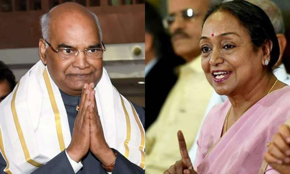 The Presidential battle was termed as a 'Dalit-vs-Dalit' contest, with both the primary candidates sharing the same caste roots