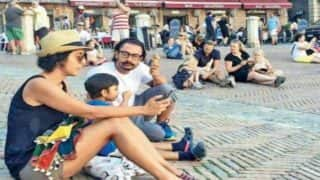 Aamir Khan Takes Time Off From The Thugs Of Hindoston Schedule, Holidays With Wife Kiran and son Azad