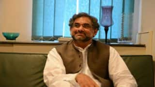 Shahid Khaqan Abbasi to be Interim Prime Minister of Pakistan After Nawaz Sharif's' Ouster: Reports