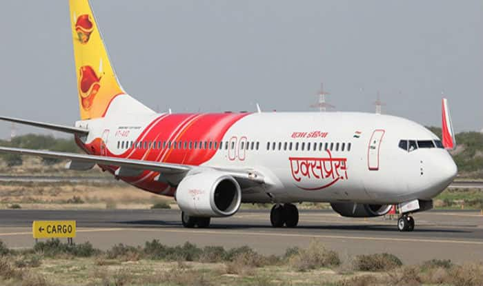 The plane damaged few runway light but there were no damage to the plane and no injuries to people on board. (Image: PTI)