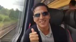 India Vs England, ICC Women's World Cup 2017 Final: Akshay Kumar Runs Barefoot To Catch A Train In London To Watch The Match- Watch Video