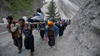 Amarnath Yatra Comes to an Abrupt Halt Amid Heavy Rains in Jammu And Kashmir
