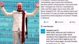 This Indian is Responsible for Jeff Bezos' Slip in World's Richest Person List? Amazon User's Hilarious Post is the Best Thing You Will See Today