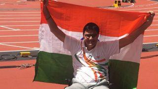India's Amit Saroha Clinches Silver at World Para Athletics Championships