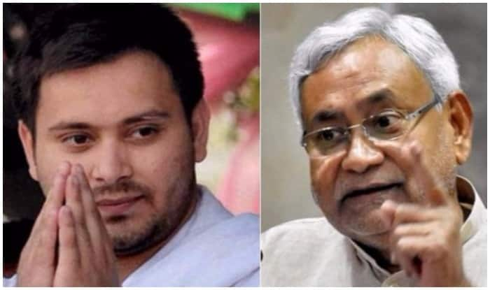 nitish kumar and tejaswi yadav