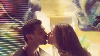 Bipasha Basu And Karan Singh Grover Spice Up Their Holiday In New York With A Passionate Kiss - View Pic