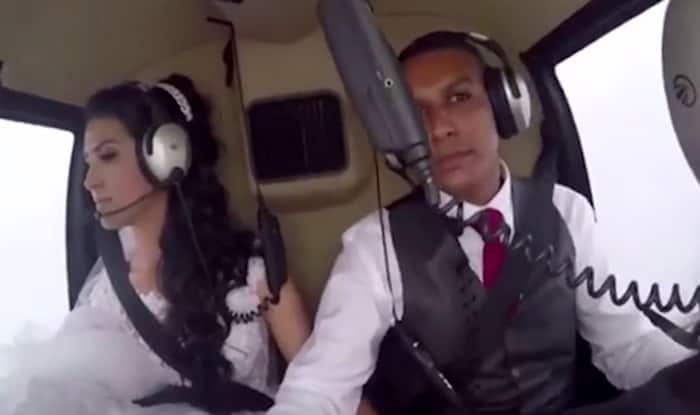 Bride's Last Moments Captured Before Helicopter Taking Her to Her Wedding Crashes