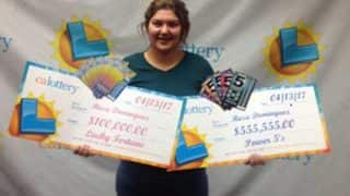 California Teenager Wins Lottery Twice in a Week, Gets $655,555!