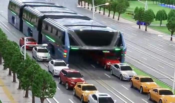 China's elevated bus project scrapped