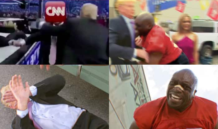 CNN extorted apology from creator of Trump wrestling gif