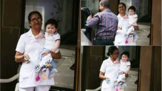 Taimur Ali Khan's Latest Adorable Pictures Will Make Your Weekend Even Better!