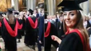 Dad's Epic Fail, Films The Wrong Girl At Daughter's Graduation Ceremony In England